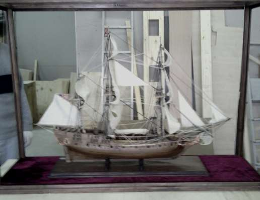 Модель старинного парусного судна