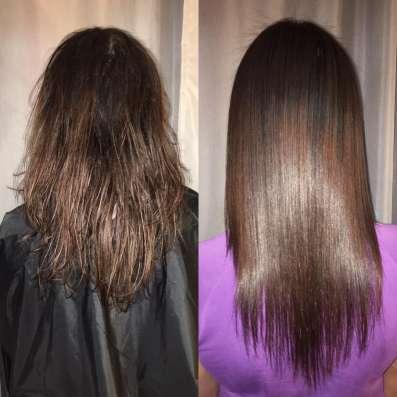 Кератиновое выпрямление волос в Москве Фото 1