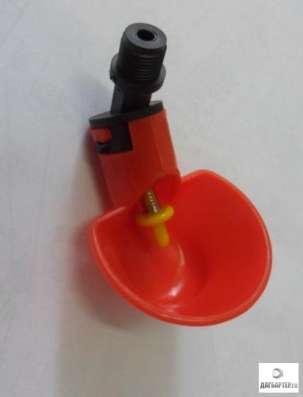 Микрочашечная поилка с резьбовым креплением М12х1