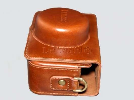 Чехол для Panasonic (Lumix) GX1 14mm светло-коричневый