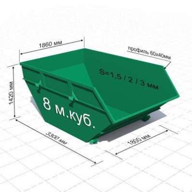 Бункер ТБО, контейнер ТБО, контейнерные площадки