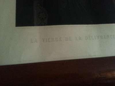 """1877г гравюра """"Богоматерь избавлени"""