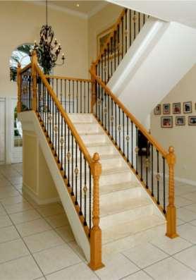 Деревянные лестницы на второй этаж stairways в Люберцы Фото 3
