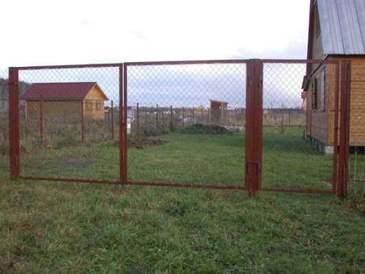 Ворота и калитки. Бесплатная доставка