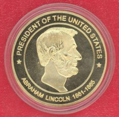 Жетон Медаль США Авраам Линкольн