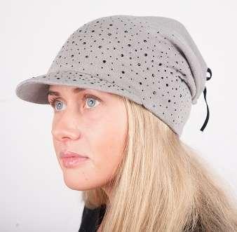 Женская трикотажная шапка модель 445