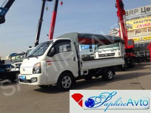 Бортовой грузовик c тентом Hyundai Porter II