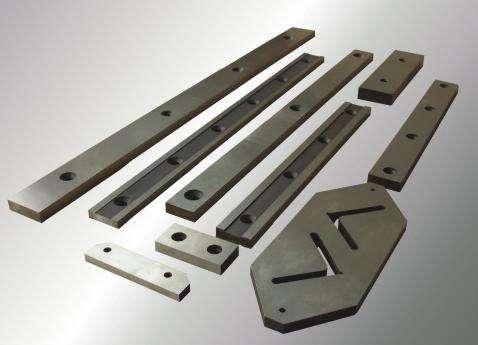 Ножи сружечные, рубильные, для гильотин по металлу, и прочие