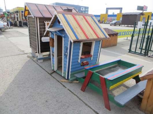 Детские домики, горки в Екатеринбурге Фото 1