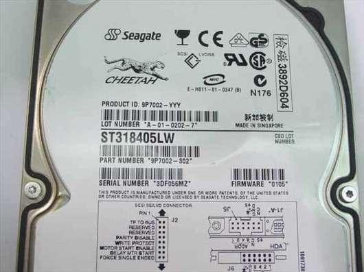 HDD SCSI разные малого объёма, от 2 гб до 18 Гб в Москве Фото 1