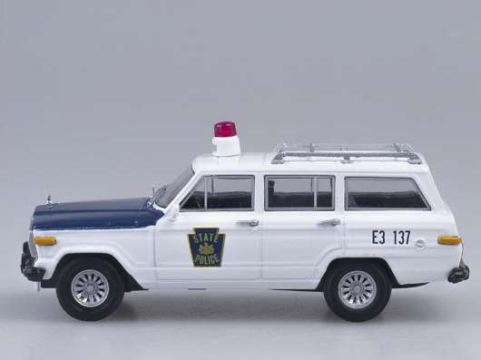 полицейские машины мира №39 JEEP WAGONEER
