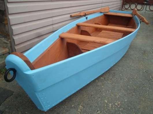 Лодка деревянная весельная в Екатеринбурге Фото 2