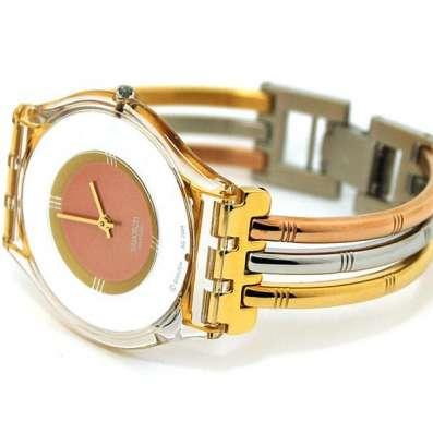 Swatch tri gold