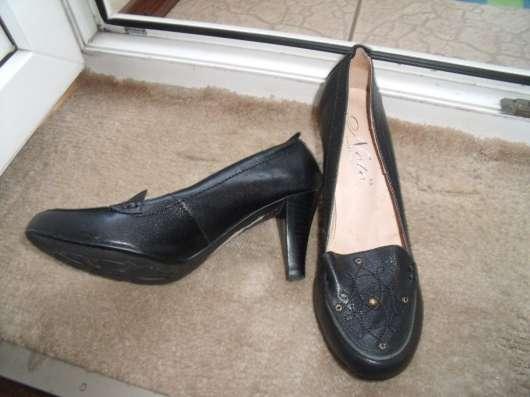 Элегантные туфли Noto collection р.38 кожа в Санкт-Петербурге Фото 1
