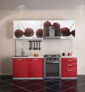 Кухня фотопечать Миф (Вишня, Клубника, )