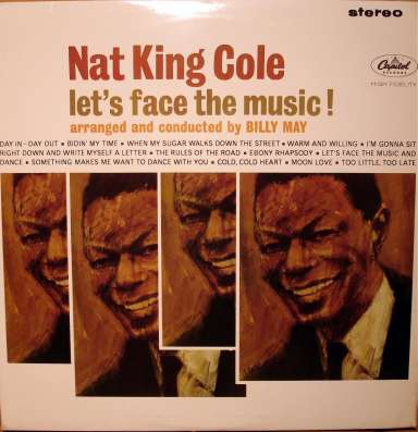 Nat King Cole ‎– Let's Face The Music! (UK)