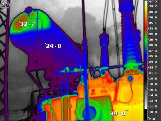 Тепловизионное обследование. Термограмма