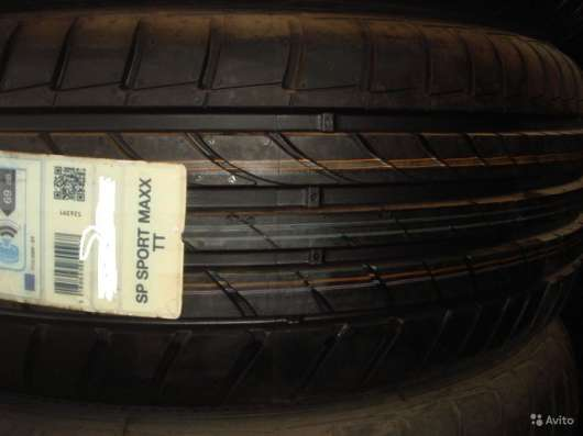 Новые Dunlop 235/45ZR17 Sport Maxx TT XL