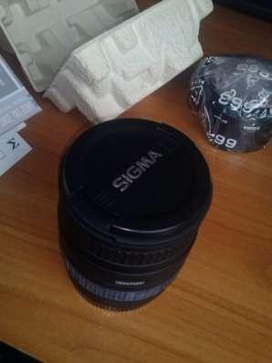 Продам объектив Canon Sigma AF 28-105mm F3.8-5.6 UC-III в Тольятти Фото 4