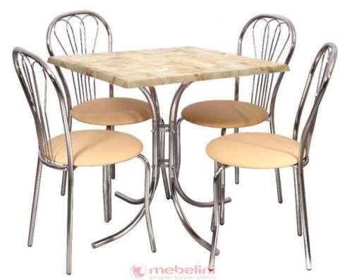 Стол для кафе соня 800х800х750 мм