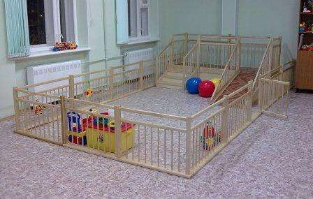Ограждение, барьер, заборчик для детских садиков и домов ребенка в Москве Фото 4