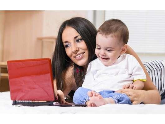 Работа для домохозяек и мамочек в декрете