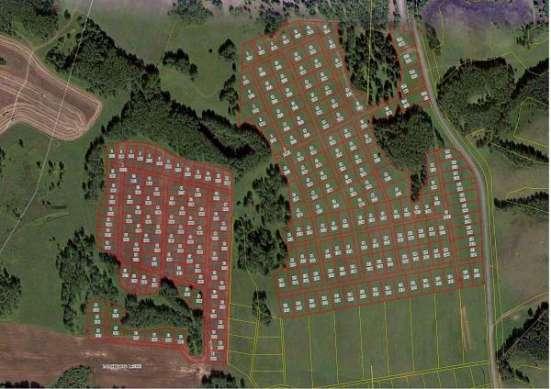 земельный участок в уютном месте
