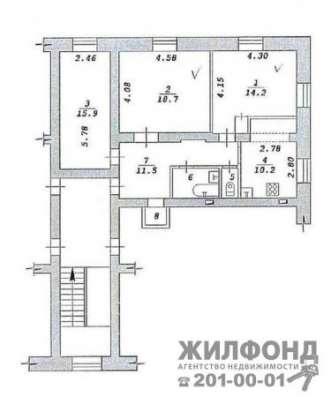 комнату, Новосибирск, Богдана Хмельницкого, 87