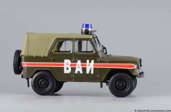 автомобиль на службе №8 Уаз-469 ВАИ в Липецке Фото 4