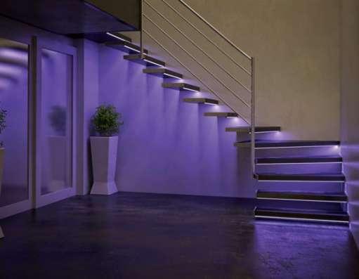 Подсветка перил и лестниц в Нижнем Новгороде Фото 2