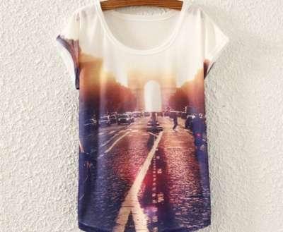 молодежная футболка с принтом в Санкт-Петербурге Фото 1