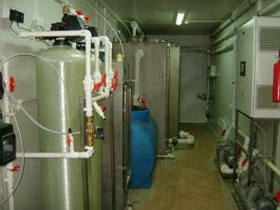 Установка очистки сточных вод  Бмос