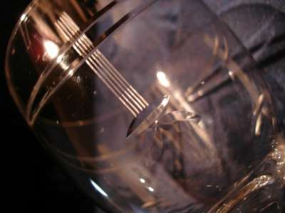 4 старинных бокала для вина,Россия, 19 в