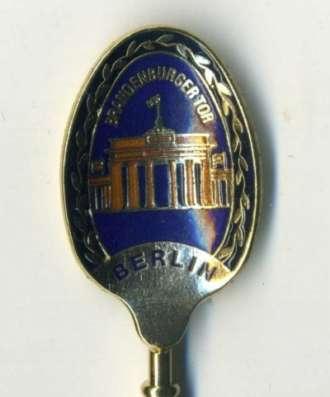 ложечку с цветной эмалью Berlin в Калининграде Фото 1