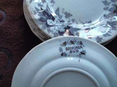 комл. тарелки BRYONIA 8шт.