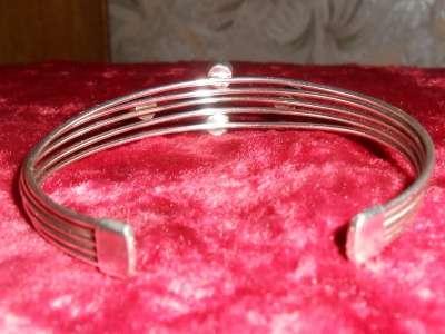 Винтажный серебренный браслет с камнями в Иванове Фото 1