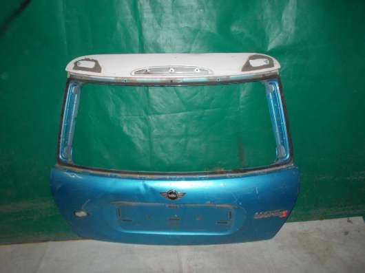 Крышка багажника Mini Cooper S