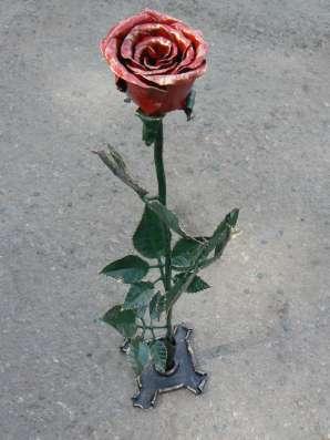 Кованая роза в г. Алматы Фото 2