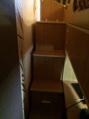 Кровать-чердак с рабочим местом бамбини в Москве Фото 1