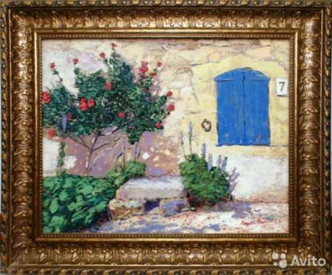 "Картины ""Париж"" и ""Прованс"" 2003 год холст, масло"