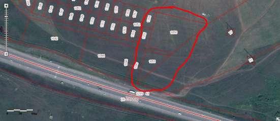 Продам участок ОД на федеральной трассе М53