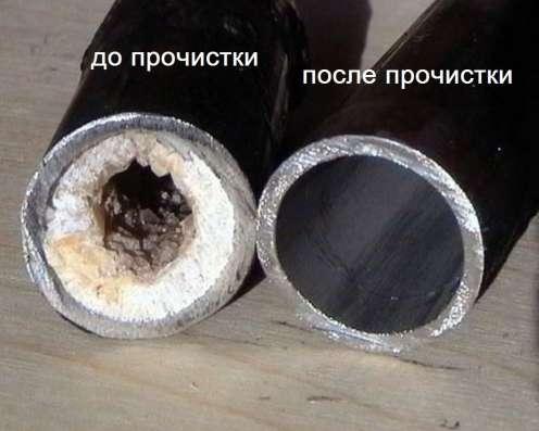 Промывка труб канализации от засоров