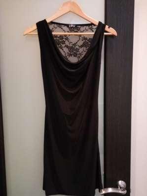 Платье вечернее черного цвета