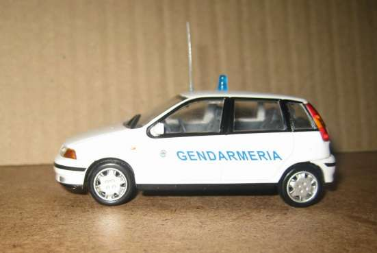 полицейские машины мира №40 FIAT PUNTO SX в Липецке Фото 5