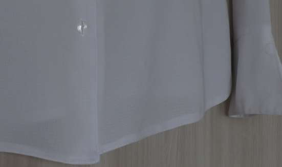 Блузка белая, р-44(46)