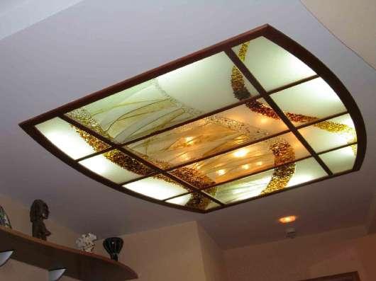 Стеклянные и зеркальные потолки в г. Караганда Фото 5