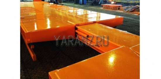 17. Трал раздвижной 48 тонн 16,7 метров в Челябинске Фото 2