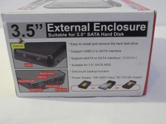 Продам внешний бокс для HDD 3.5