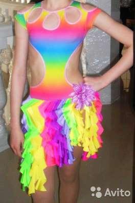 Платье латина для спортивных бальных танцев