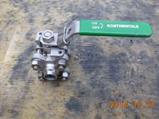 Кран шаровый нерж ду15ру63 св/св в Калининграде Фото 3